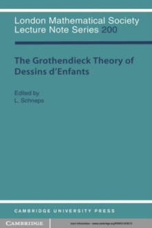 Image for Grothendieck Theory of Dessins d'Enfants