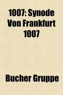 Image for 1007: SYNODE VON FRANKFURT 1007