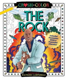 Image for CRUSH & COLOR DWAYNE THE ROCK JOHNSON