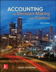Image for Accounting for Decision Making and Control