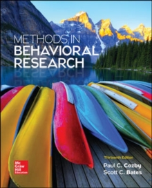 Image for Methods in behavioral research