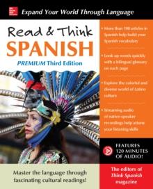 Image for Read & Think Spanish, Premium Third Edition