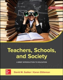 Image for Teachers, Schools, and Society: A Brief Introduction to Education