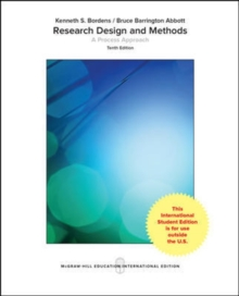 Image for Research design and methods  : a process approach
