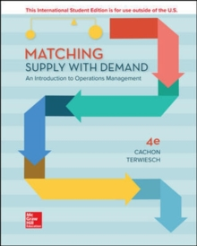 Image for Matching supply with demand  : an introduction to operations management