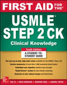 Image for First aid for the USMLE Step 2 CK