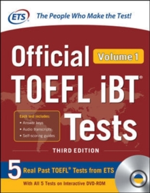 Official TOEFL iBT Tests Volume 1, Third Edition by