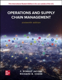 Image for ISE Operations and Supply Chain Management