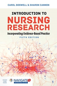 Image for Introduction to nursing research  : incorporating evidence-based practice