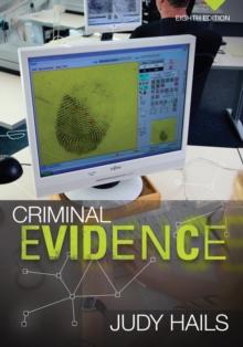 Image for Criminal evidence