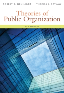 Image for Theories of public organization