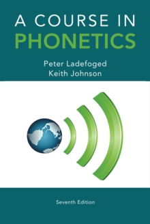 Image for A course in phonetics