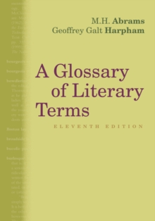 Image for A glossary of literary terms