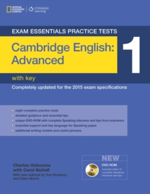 Image for Cambridge advanced practice test 1 with key