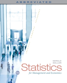 Image for Statistics for management and economics