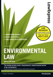 Environmental law - Sneddon, Simon