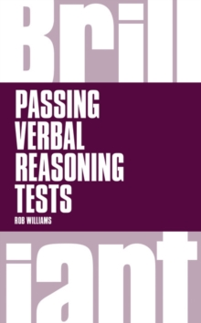 Brilliant passing verbal reasoning tests - Williams, Rob