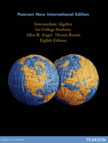 Image for Intermediate Algebra for College Students: Pearson New International Edition