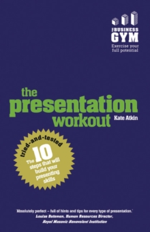 Image for The presentation workout