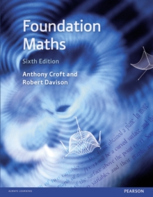 Image for Foundation maths