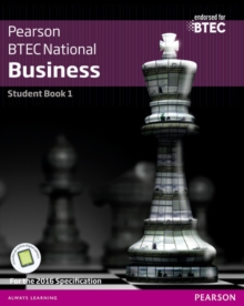 Image for Pearson BTEC National businessStudent book 1