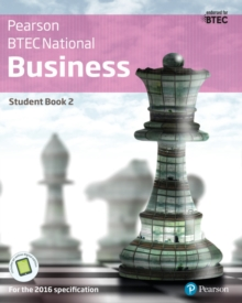Image for Pearson BTEC National businessStudent book 2