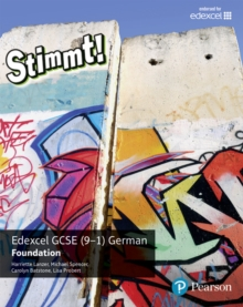 Image for Stimmt! Edexcel GCSE GermanFoundation,: Student book