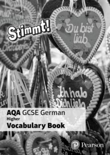 Image for Stimmt! AQA GCSE German Higher Vocab Book (pack of 8)