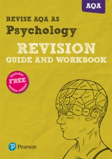 Image for Revise AQA AS level psychology: Revision guide and workbook