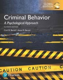 Image for Criminal behavior  : a psychological approach