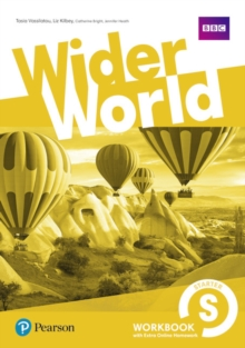 Image for Wider World Starter Workbook with Extra Online Homework Pack