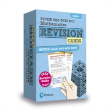 Image for Revise AQA GCSE (9-1) Mathematics Higher Revision Cards : with free online Revision Guide