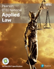 BTEC National applied law: for the 2017 specifications. (Student book) - Summerscales, Ann