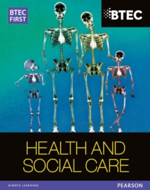 Image for BTEC first Edexcel health and social care