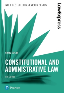 Constitutional and administrative law - Taylor, Chris