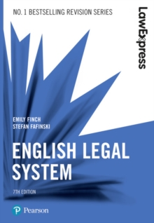 English legal system - Finch, Emily