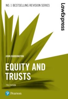 Equity and trusts - Duddington, John
