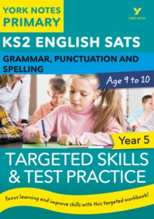 KS2 grammar, P&S target skills question book for Year 5 - Woodford, Kate