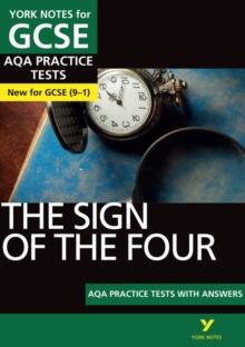 Image for The sign of the four  : AQA practice tests