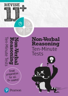 Image for Revise 11+ Non-Verbal Reasoning Ten-Minute Tests