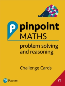 Image for Pinpoint Maths Year 1 Problem Solving and Reasoning Challenge Cards : Y1 Problem Solving and Reasoning Pk