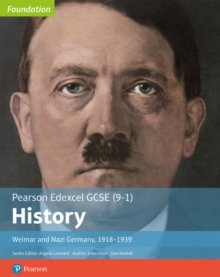 Image for Edexcel GCSE (9-1) History Foundation Weimar and Nazi Germany, 1918-39 Student Book