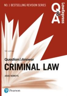 Criminal law - Kemeys, Josie