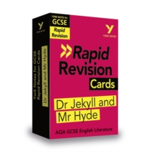 Image for York Notes for AQA GCSE (9-1) Rapid Revision Cards: The Strange Case of Dr Jekyll and Mr Hyde