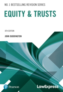Law Express: Equity and Trusts - Duddington, John