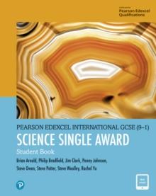 Image for Pearson Edexcel International GCSE (9-1) Science Single Award Student Book