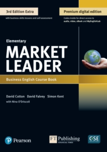 Image for Market Leader 3e Extra Elementary Course Book, eBook, QR, MEL & DVD Pack