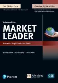 Image for Market Leader 3e Extra Intermediate Course Book, eBook, QR, MEL & DVD Pack