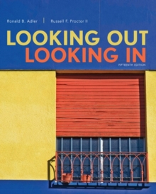 Image for Looking out, looking in