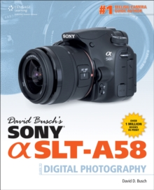Image for David Busch's Sony Alpha SLT-A58 guide to digital photography